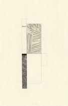 13. Arbeit 2007, 21 x 14 cm, Collage