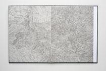 179. Arbeit 2007, 32 x 384 cm, 16  Aquarelle / Leporello