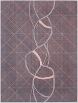 126. Arbeit 2020, 60,5 x 45,5 cm, Aquarell