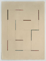 13. Arbeit 2005, 51 x 38 cm, Collage