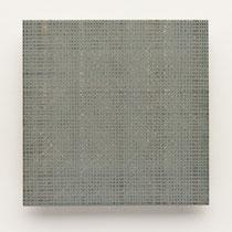 58. Arbeit 2014, 15 x 15 cm, Guasche auf Keramik