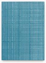 155. Arbeit 2016, 48 cm x 35 cm, Acryl auf Hartfaserplatte