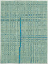 99. Arbeit 2018, 41,5 x 31 cm, Arcyl auf Offsetdruck