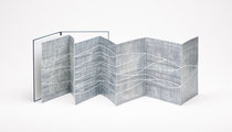 69. Arbeit 2017, 36 x 28 cm, 8 Acrylmalereien auf Chromoluxkarton / Leporello, Sammlung Kienbaum