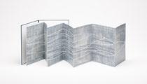 69. Arbeit 2017, 36 x 224 cm, 8 Acrylmalereien auf Chromoluxkarton / Leporello, Sammlung Kienbaum