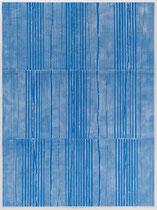 8. Arbeit 2018, 93,5 cm x 70 cm, Acryl auf Chromoluxkarton