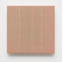 48. Arbeit 2014, 15 x 15 cm, Gouache auf Keramik