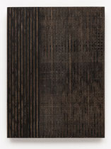 14. Arbeit 2017, 23,5 cm x 24,5 cm, Acryl auf Hartfaserplatte