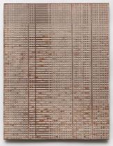 34. Arbeit 2017, 45 cm x 35 cm, Acryl auf Hartfaserplatte