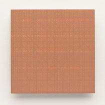 50. Arbeit 2014, 15 x 15 cm, Guasche auf Keramik