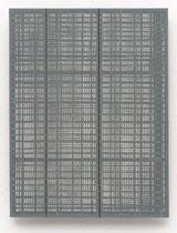 141. Arbeit 2016, 23,5 x 18 cm,  Acryl auf Hartfaserplatte