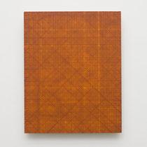 3. Arbeit 2015, 30 x 24 cm, Acryl auf MDF- Platte