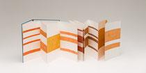 13. Arbeit 2014, 32 x 322 cm, 14 Aquarelle / Leporello