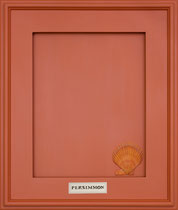 PERSIMMON   A burnt orange. Perfect for accent walls, powder rooms, entry halls - anywhere you want a burst of color.