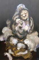 """"""" La descendance du prince """" - 195 x 130 cm"""