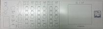 19 Zoll Frontplatte nach Kundenwunsch erstellt und in Aluminium gefräst
