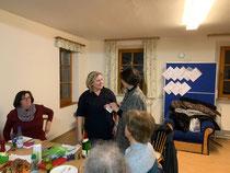 Frauen-Union Veitsbronn: Jahreshauptversammlung Claudia Kloska und Adelheid Seifert