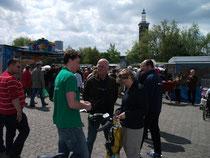 e-motion NRW Team mit Pedelecs