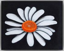Acrylbild Margerite,  Größe 50x40x2cm, Jahr: 2012, Preis: 250€