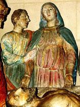 la Vierge et Saint-Pierre