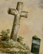 Miannay- Sur le chemin de Liercourt à Miannay- Oswald Macqueron- 21-9-1839-
