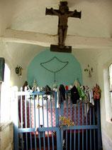 L'intérieur de la chapelle de Woirel