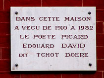 Au 44 de la rue Enguerrand- quartier Saint-Acheul- Amiens