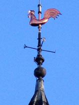 La girouette-coq de l'Hôtel de Ville de Doullens