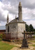 Chapelle funéraire à Acheux-en-Amiénois