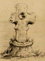 Croix du cimetière de Valines