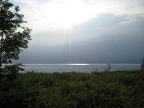 Windexponierte Lage des Seehags: Rheintal-Föhn und Südwest-Lagen