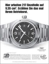 Kunde: IWC Schaffhausen / Agentur: Jung von Matt / Motiv: Betriebsrat
