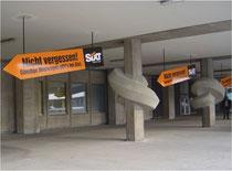 Kunde: Sixt / Agentur: Jung von Matt / Flughafen-Promotion: Knoten