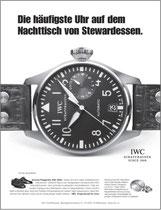 Kunde: IWC Schaffhausen / Agentur: Jung von Matt / Motiv: Stewardess