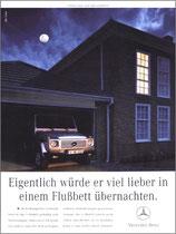 Kunde: Mercedes-Benz / Agentur: Springer & Jacoby / Motiv: G-Modell Flussbett