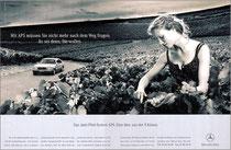 Kunde: Mercedes-Benz / Agentur: Springer & Jacoby / Motiv: Navigation
