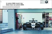 Kunde: BMW / Agentur: Jung von Matt / Motiv: Formel-1 Know-How
