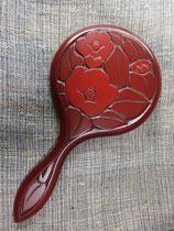鎌倉彫手鏡 /鏡直径 4寸(約12㎝)