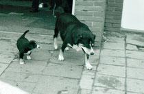 Gjule und Oma Ira