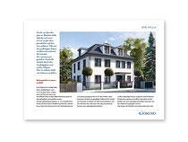 Exposé Neugestaltung und 28-Seiter für DOMINO Bau- & Handels-GmbH