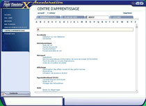 Fsx/Centre d'apprentissage/Index