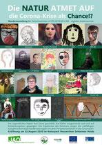 Plakat FÖJ - digitales Kreativseminar