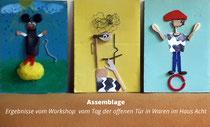 Jubiläum Kultur- und Kunstverein Waren e.V., Workshop für Kinder im HAUS ACHT