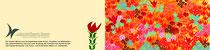 Florale Muster - Lebenshilfswerk - Karte