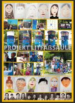 Litfaßsäule Gielow - Künstler für Schüler 2018 - Naturverbundene Leseschule Gielow