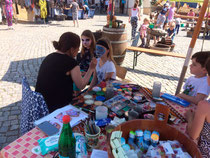 Kinderschminken am Kindertag - Kultur- und Kunstverein Waren e.V.
