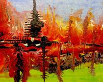 "2016-215, ""Indian summer, acrylics, DIN A2"