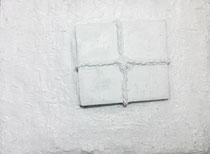 "2012-24, ""Lost"", gypsum, 64 cm x 43 cm"