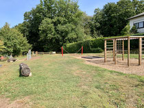 Unser neuer Spielplatz auf dem oberen Schulhof...