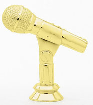 "TF403 - 4"" Microphone Figure"